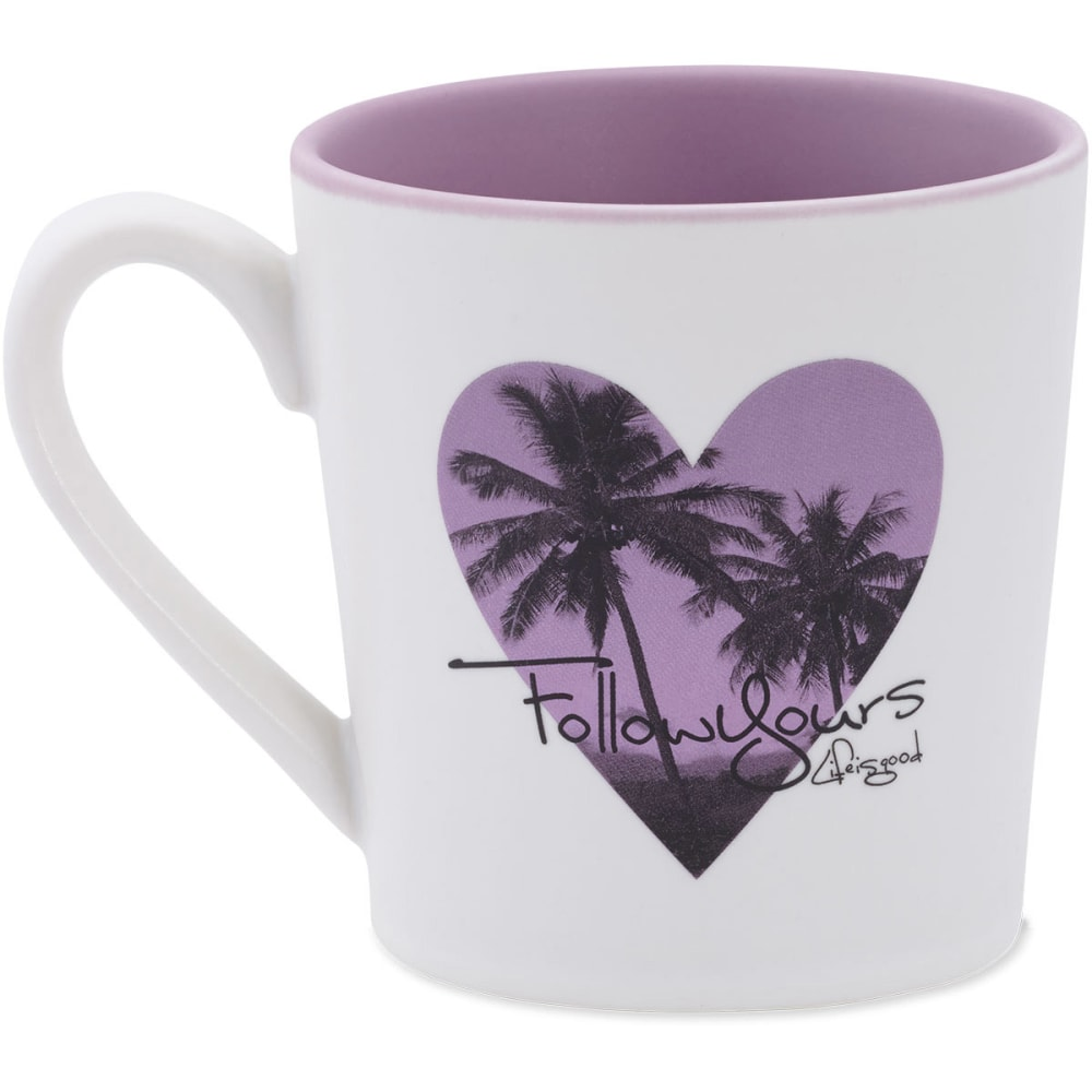 LIFE IS GOOD Everyday Mug Follow Yours - SIMPLY IVORY