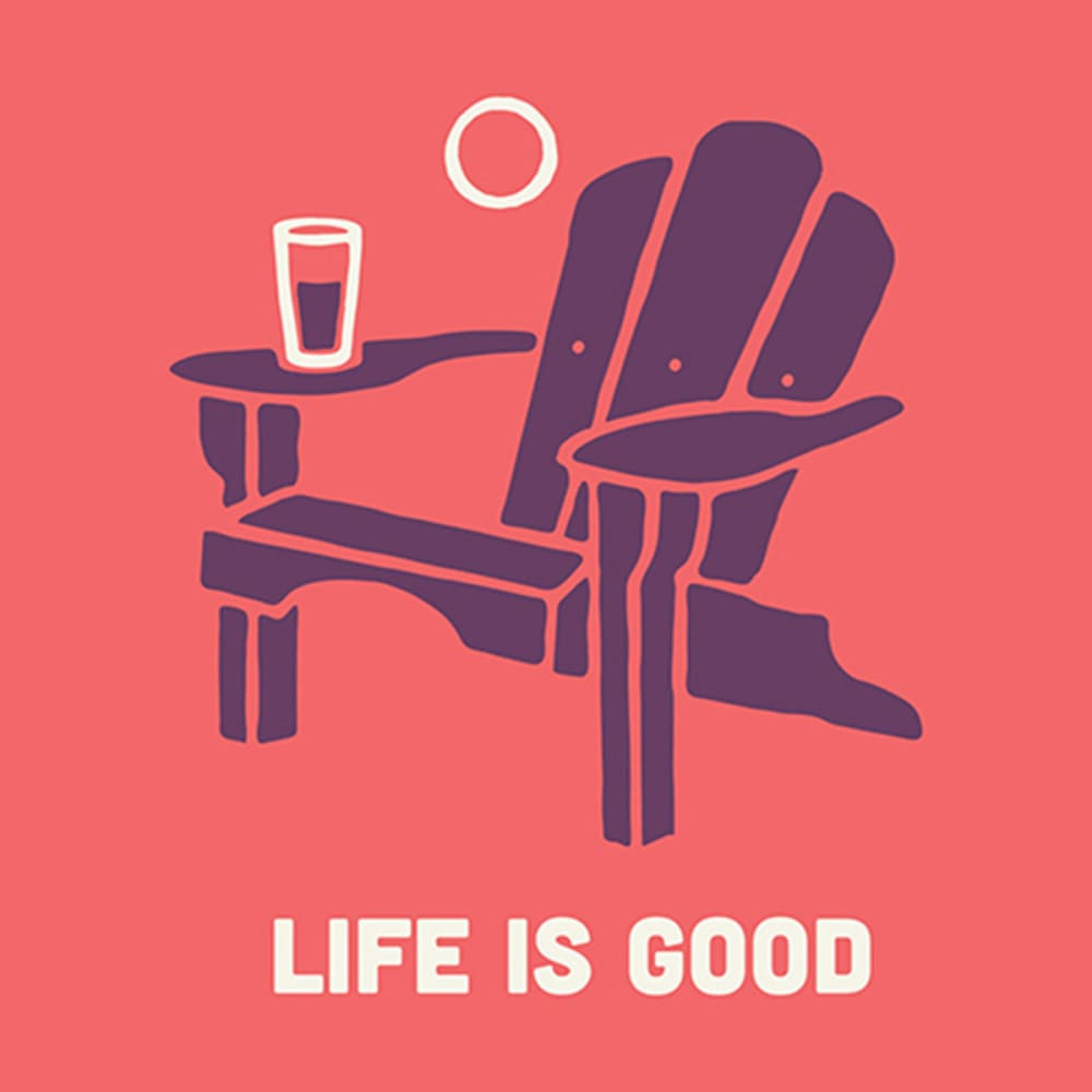 LIFE IS GOOD Adirondack Everyday Mug - CORAL