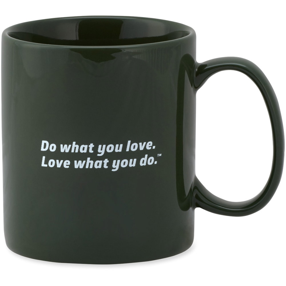 "LIFE IS GOOD ""Good Morning"" Jake's Mug - HUNTER GREEN"