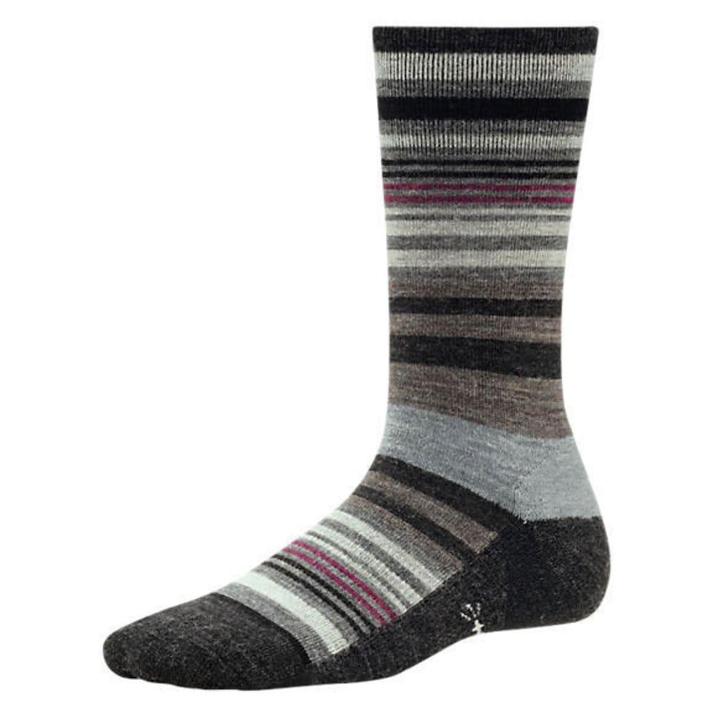 SMARTWOOL Women's Jovian Stripe Socks - CHAR HTHR