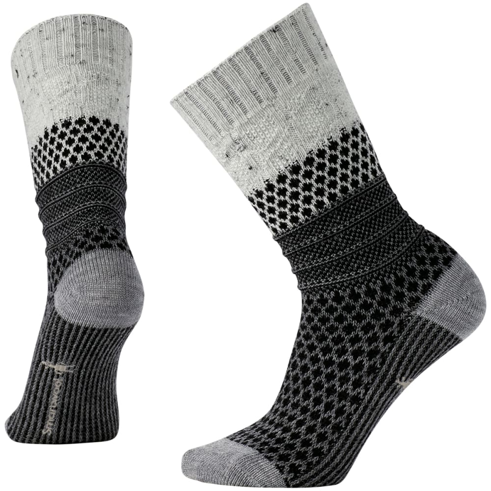 SMARTWOOL Women's Popcorn Cable Socks - WINTER WHITE - 983