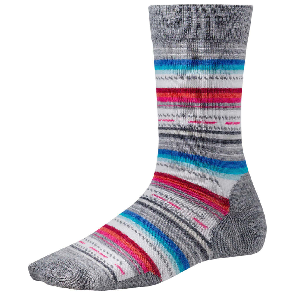 SMARTWOOL Margarita Socks - LT GREY HEATHER-883
