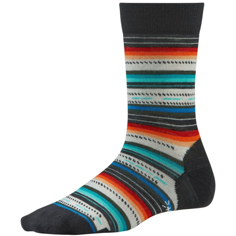 SMARTWOOL Margarita Socks - BLACK MULTI