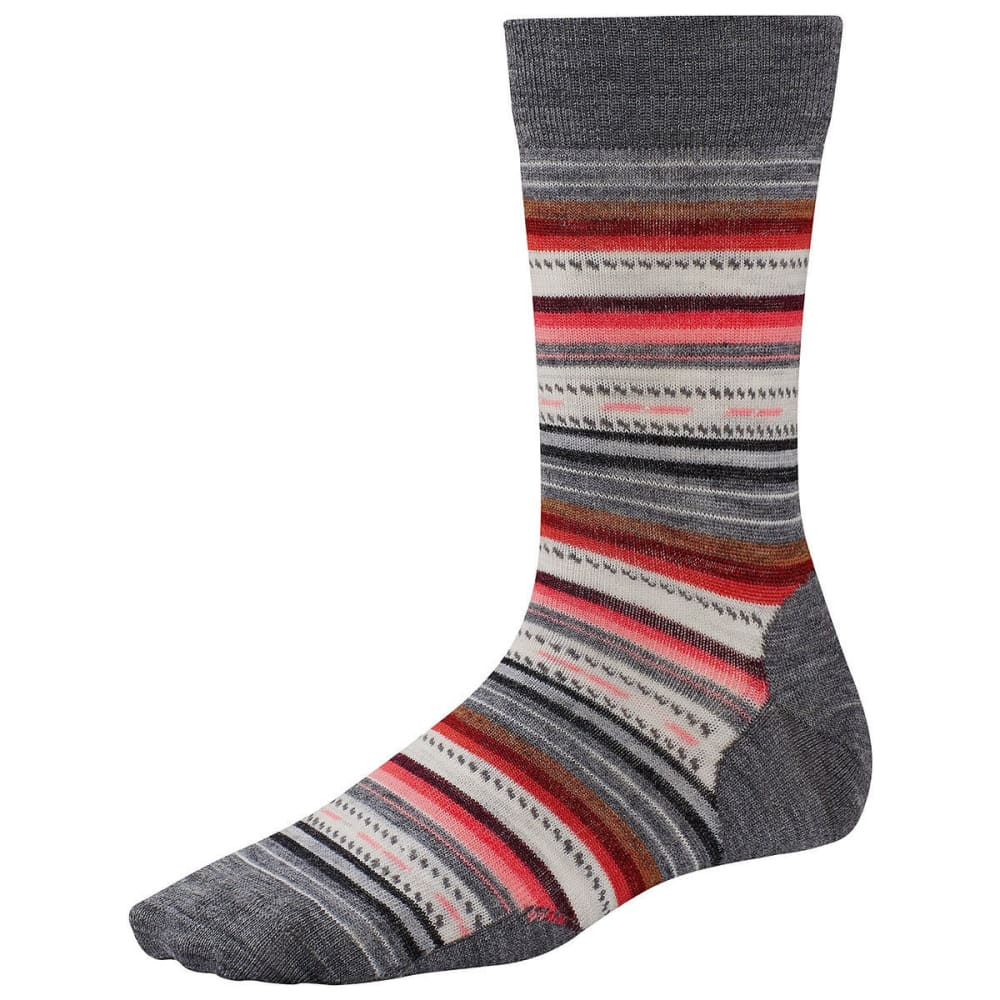 SMARTWOOL Margarita Socks - MEDIUM GREY 052