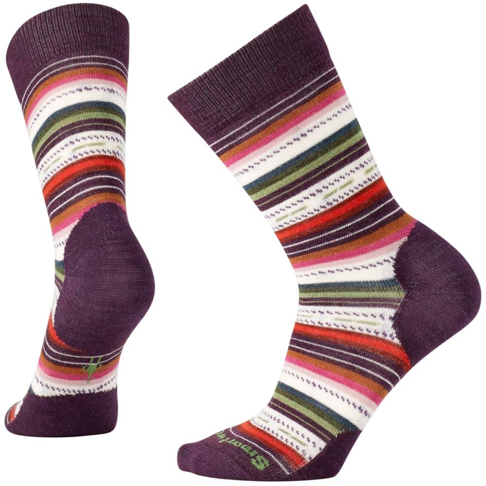SMARTWOOL Margarita Socks - BORDEAUX HEATHER 587