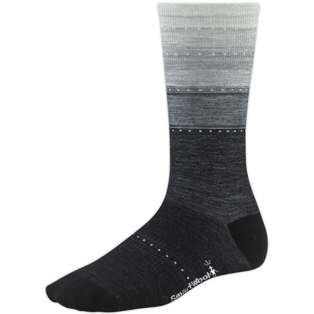 SMARTWOOL Women's Sulawesi Stripe Socks - CHARCOAL 010