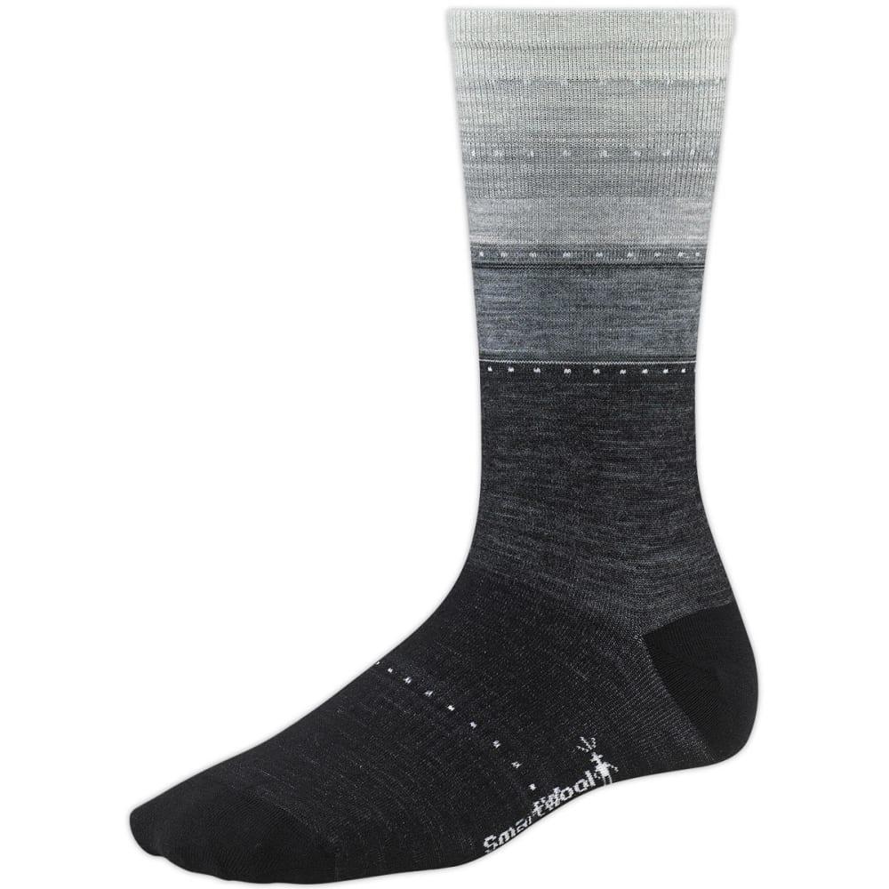 SMARTWOOL Women's Sulawesi Stripe Socks - CHARCOAL 010