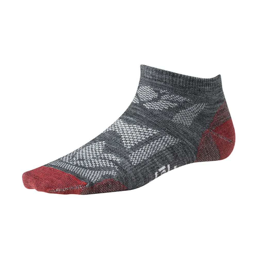 SMARTWOOL Women's Outdoor Sport Ultra-Light Socks - MEDIUM GREY