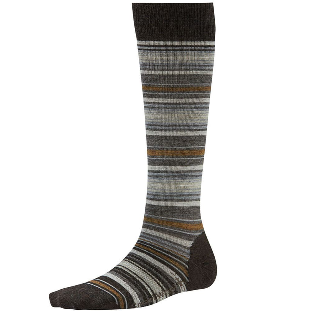 SMARTWOOL Women's Arabica II Knee-High Socks - CHESTNUT