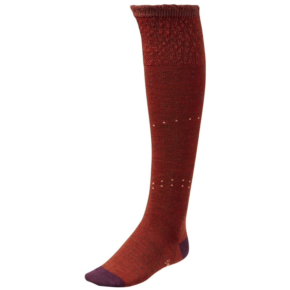 SMARTWOOL Women's Fanflur Socks - CINNAMON