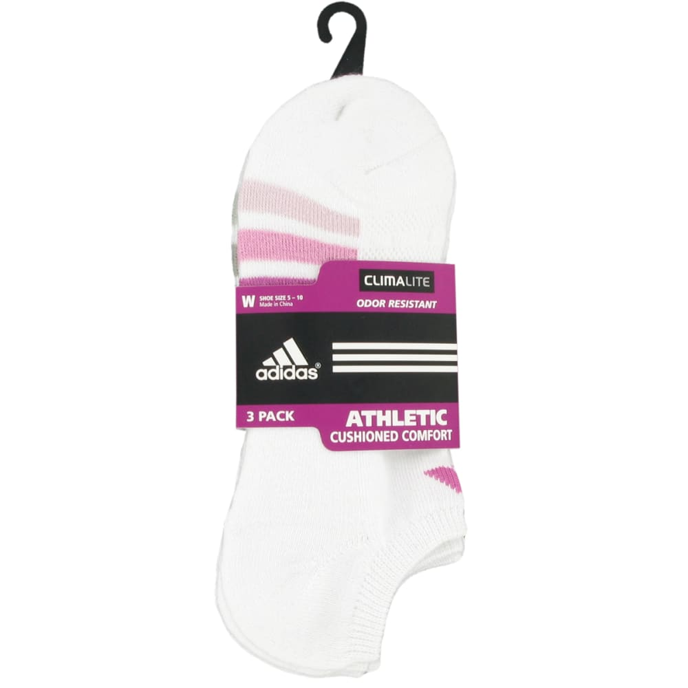 ADIDAS Women's Cushioned Variegated No Show Socks - WHITE/5135854