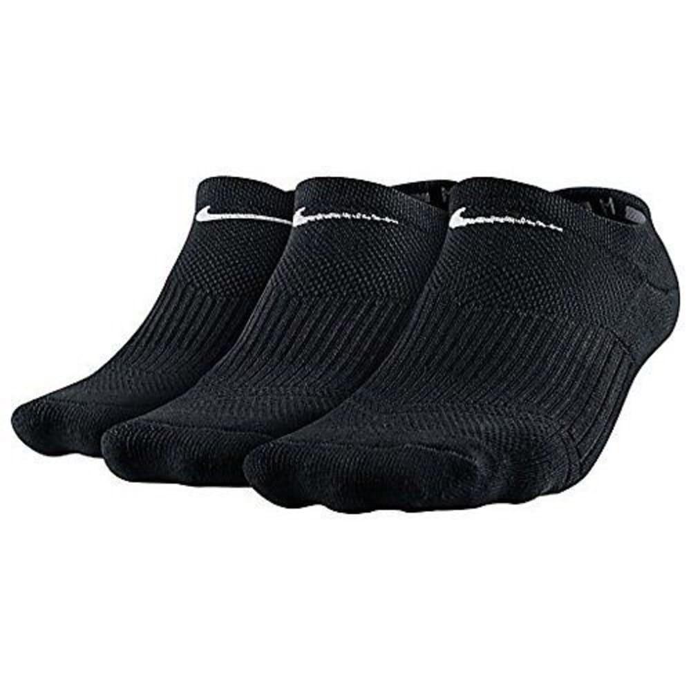 NIKE Women's Cushioned No-Show Socks, 3 Pack 9-11