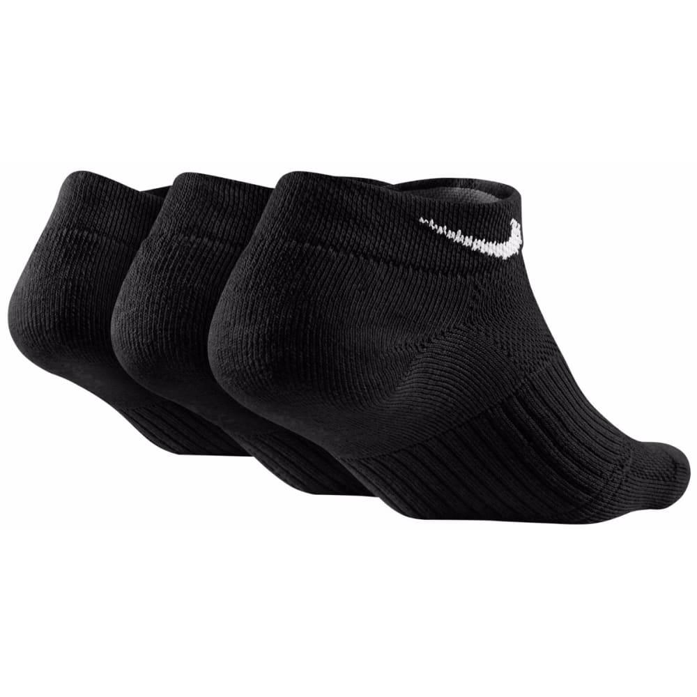 NIKE Women's Cushioned Low-Cut Socks, 3-Pack - BLACK 001
