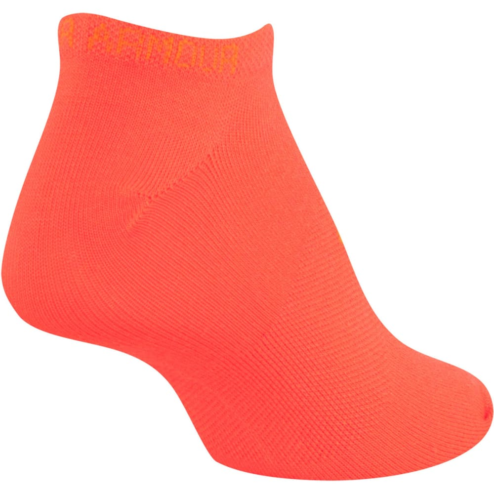 UNDER ARMOUR Women's Liner No Show Socks, 6 Pack - BRIGHT ASSORT-977