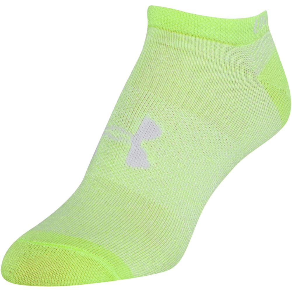 UNDER ARMOUR Women's Liner No Show Socks, 6-Pack - MARL ASSORT-964