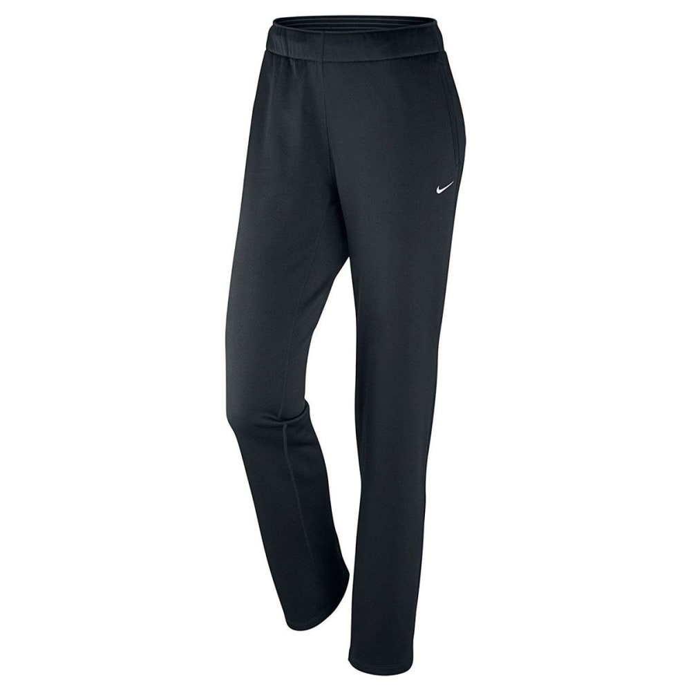 NIKE Women's Therma All Time Training Pants - BLACK 010
