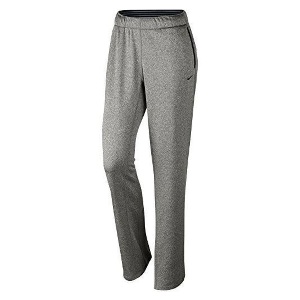 NIKE Women's Therma All Time Training Pants - DARK GREY HEATHER PR