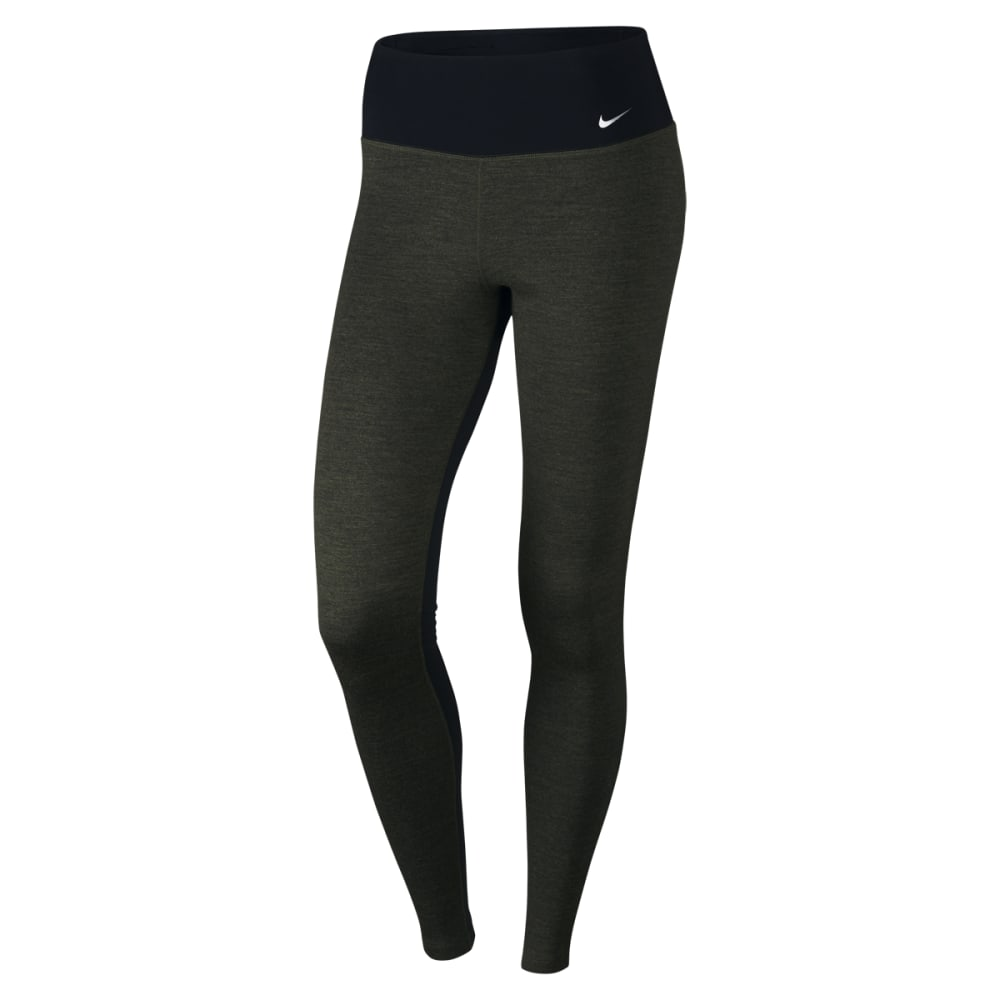 NIKE Women's All Time Slim Graphic Pants - BLACK