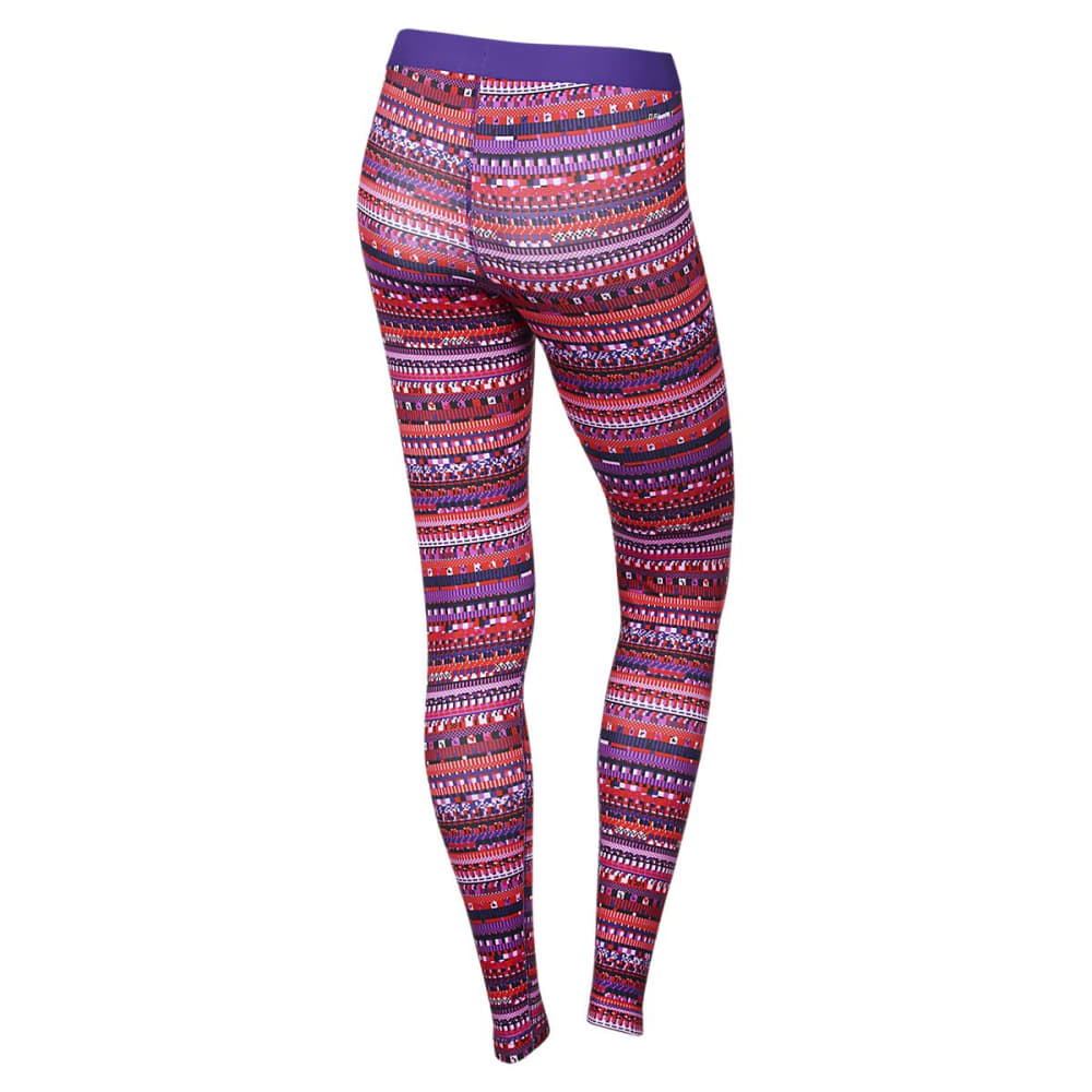 NIKE Women's Pro Warm 8 Bit Tights - PATTERN