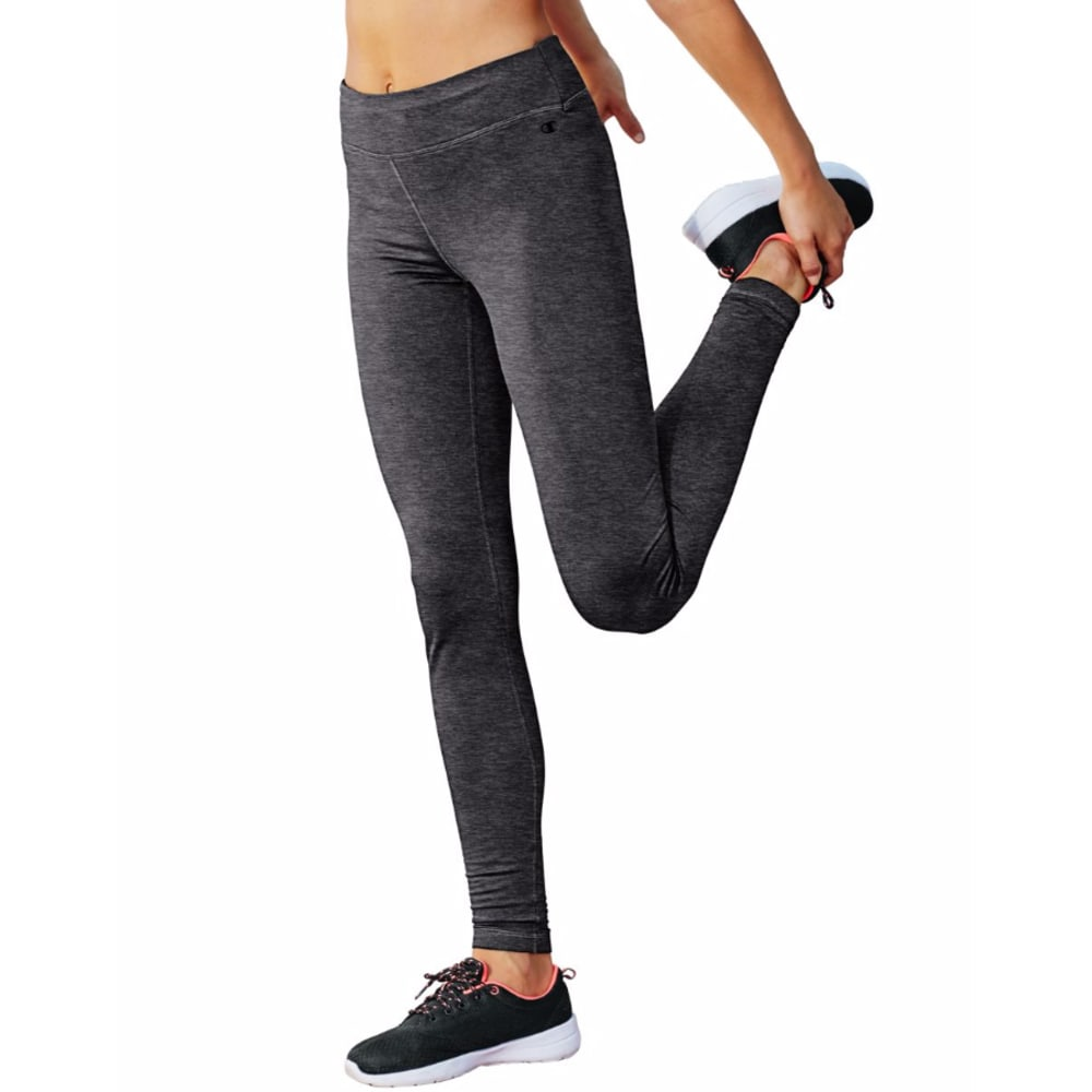 CHAMPION Women's Tech Fleece Tights - GRANITE HEATHER