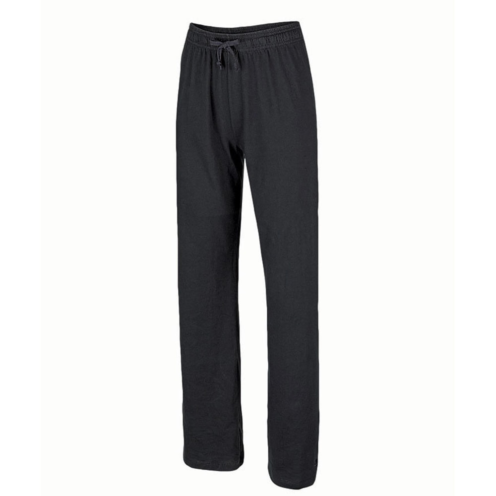 CHAMPION Women's Jersey Pants - BLACK-001