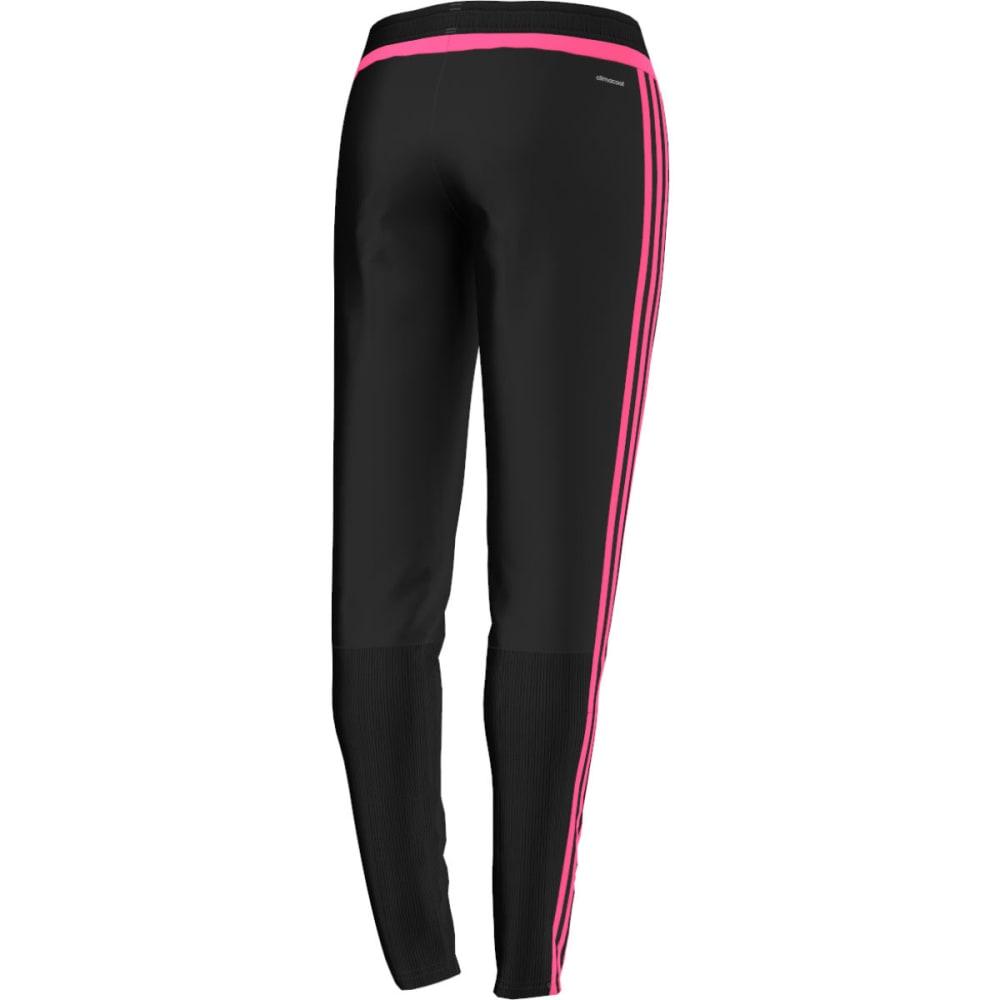 ADIDAS Women's Tiro 15 Soccer Training Pants - BLACK/SOLAR PINK