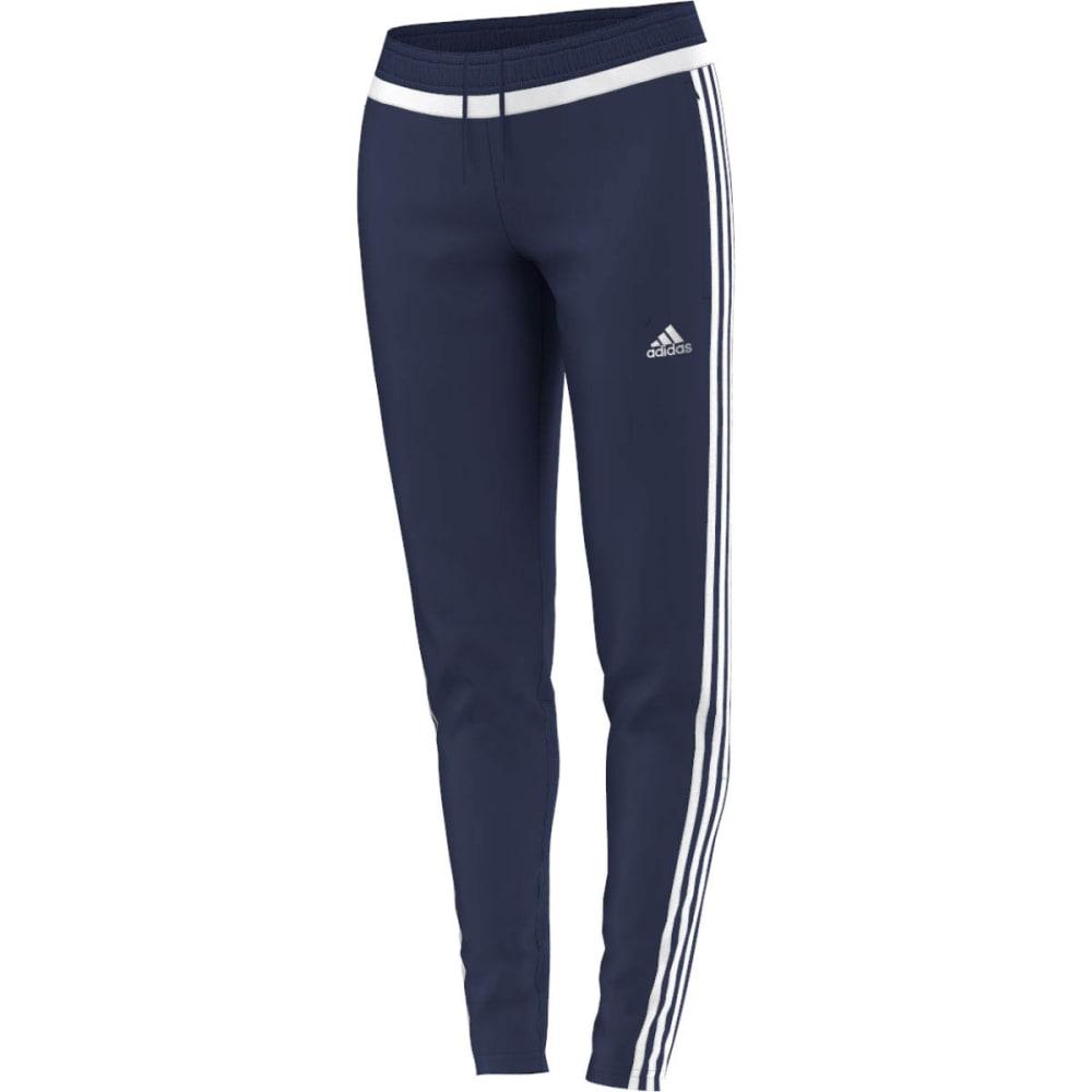 ADIDAS Women's Tiro 15 Soccer Training Pants - DARK BLUE/WHITE