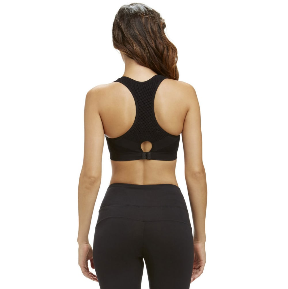 MARIKA Women's Jamie Seamless Mesh Sport Bra - BLACK-001