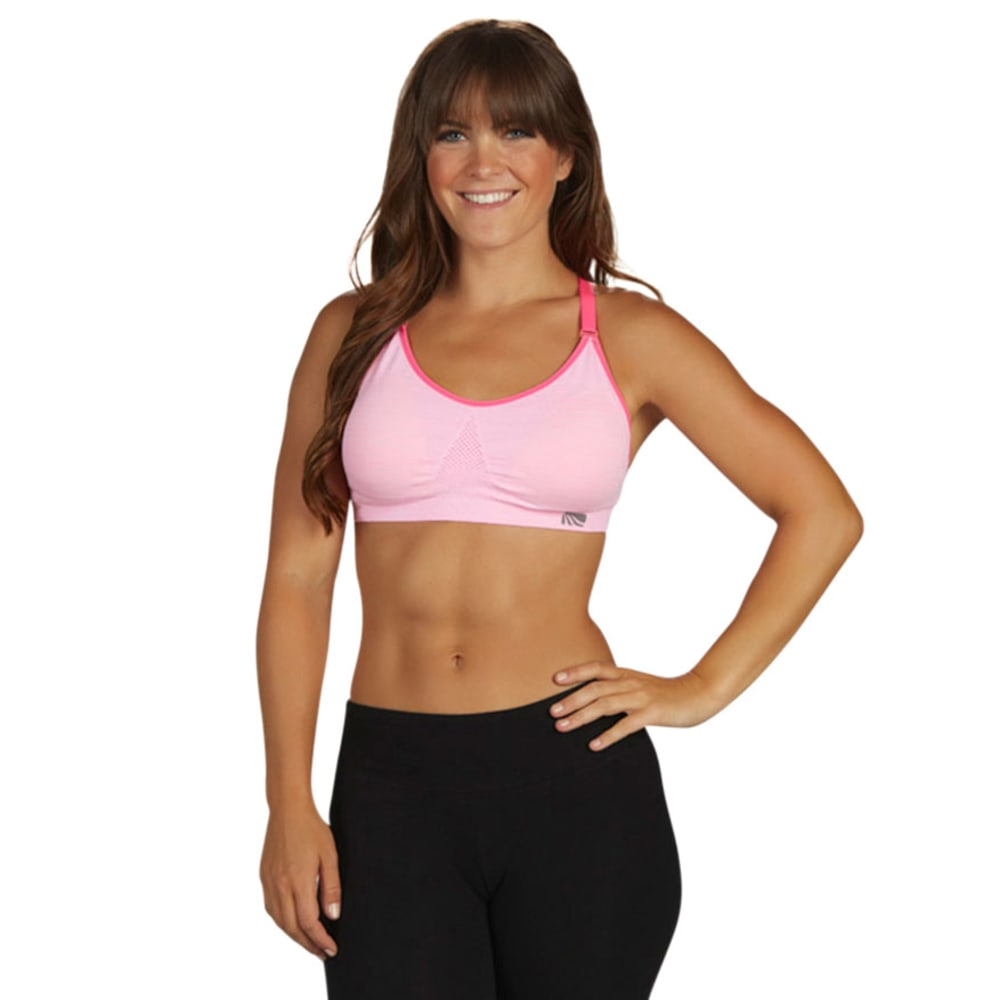 MARIKA Women's Seamless Sports Bra - VALUE DEAL - COTTON CANDY