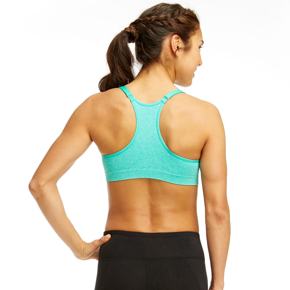 MARIKA Women's Seamless Power Mesh Sports Bra - HTR VIVID GREEN-30G