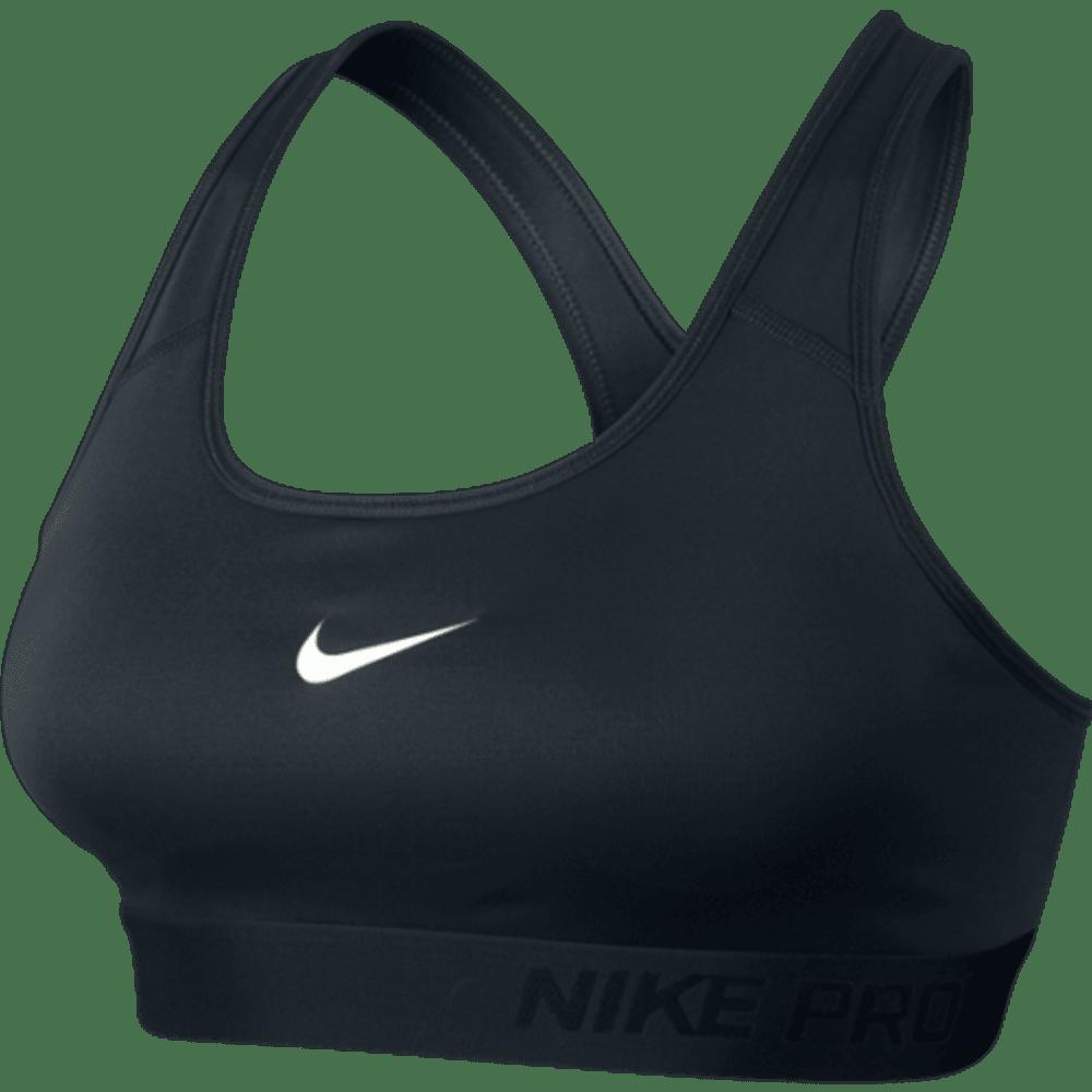 NIKE Women's Pro Classic Padded Bra - BLACK-010