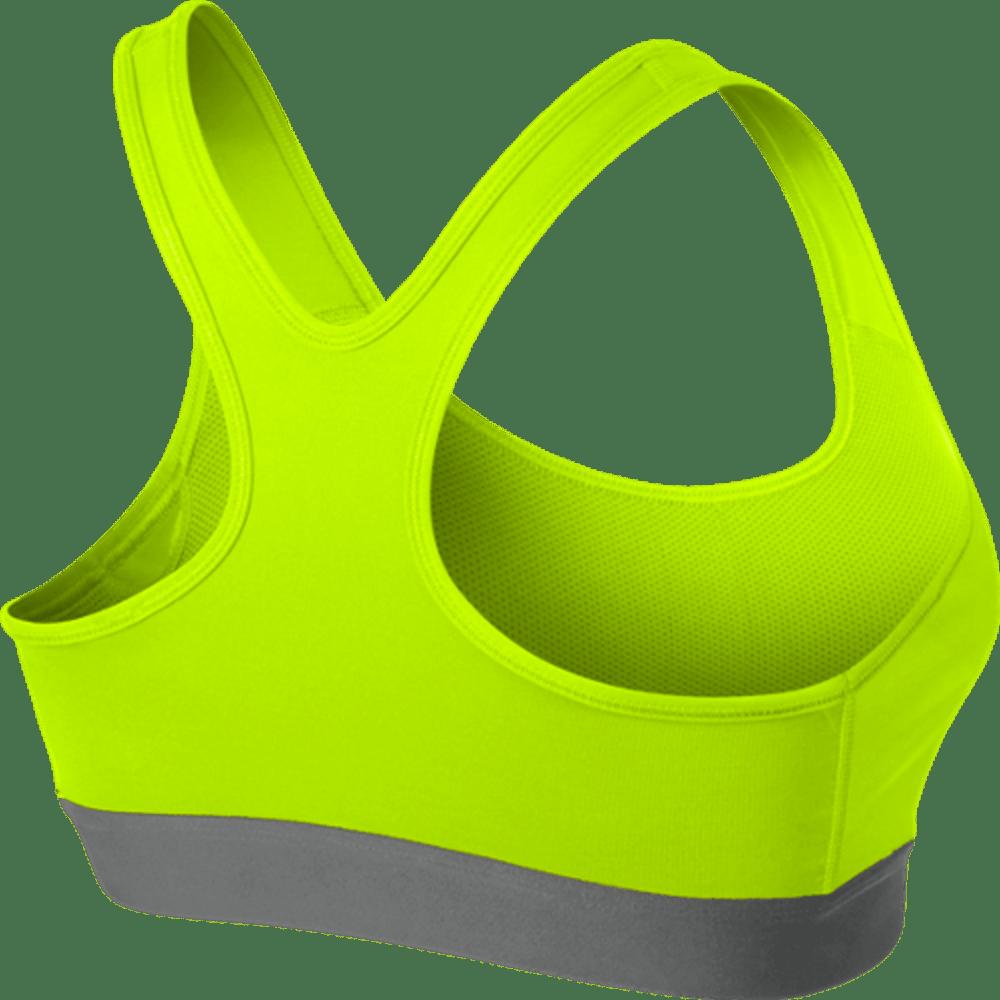 NIKE Women's Pro Classic Padded Bra - LT GREEN