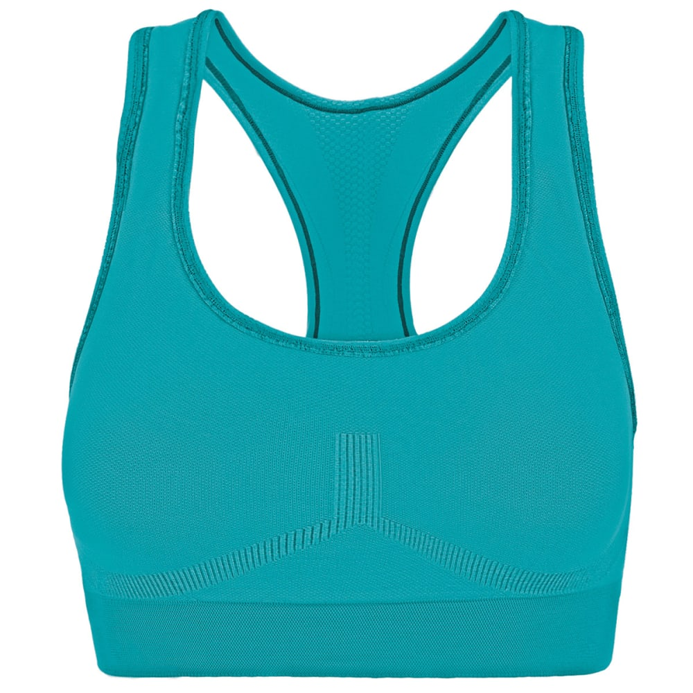 CHAMPION Women's Freedom Racerback Sports Bra - TEAL