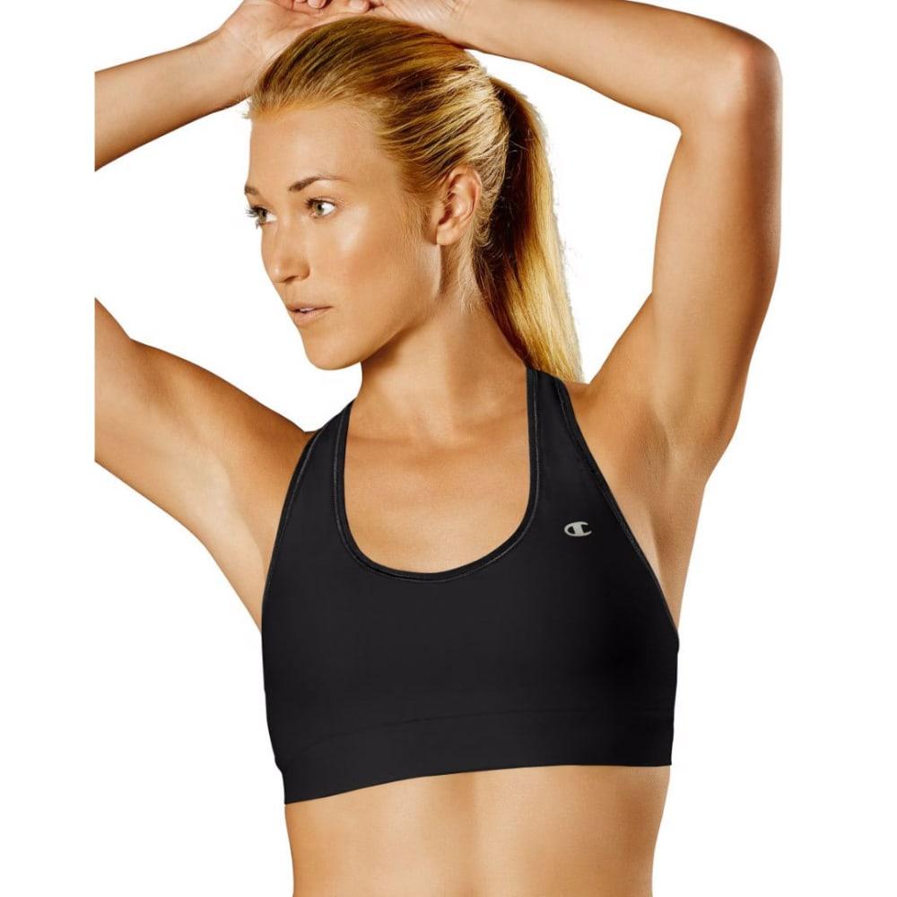 CHAMPION Women's Absolute Workout II Sports Bra - BLACK