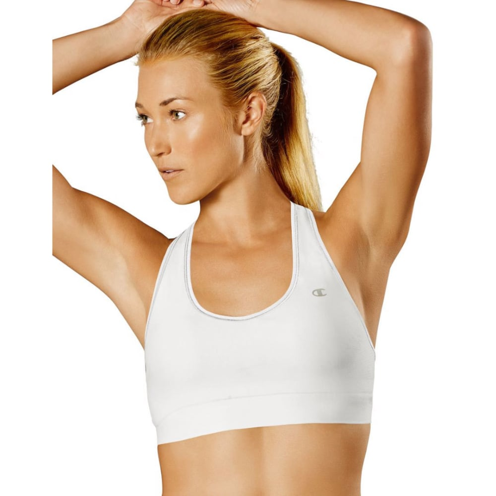 CHAMPION Women's Absolute Workout II Sports Bra - WHITE-100