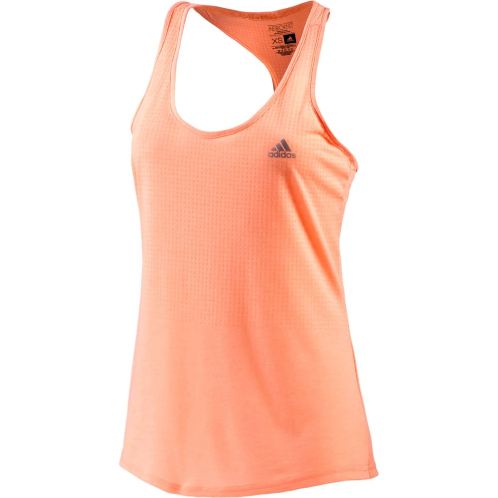 ADIDAS Women's Aeroknit Tank - FLASH ORANGE/MATTE S