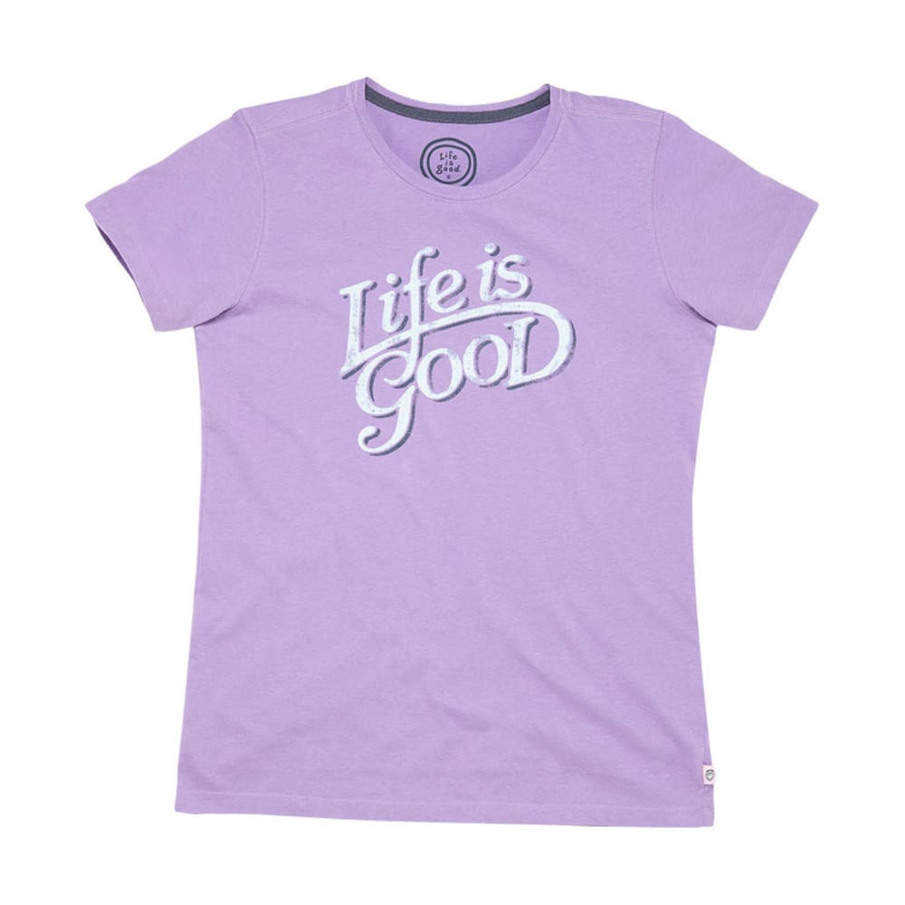 LIFE IS GOOD Women's Life is Good Creamy Tee - SOFT PURPLE