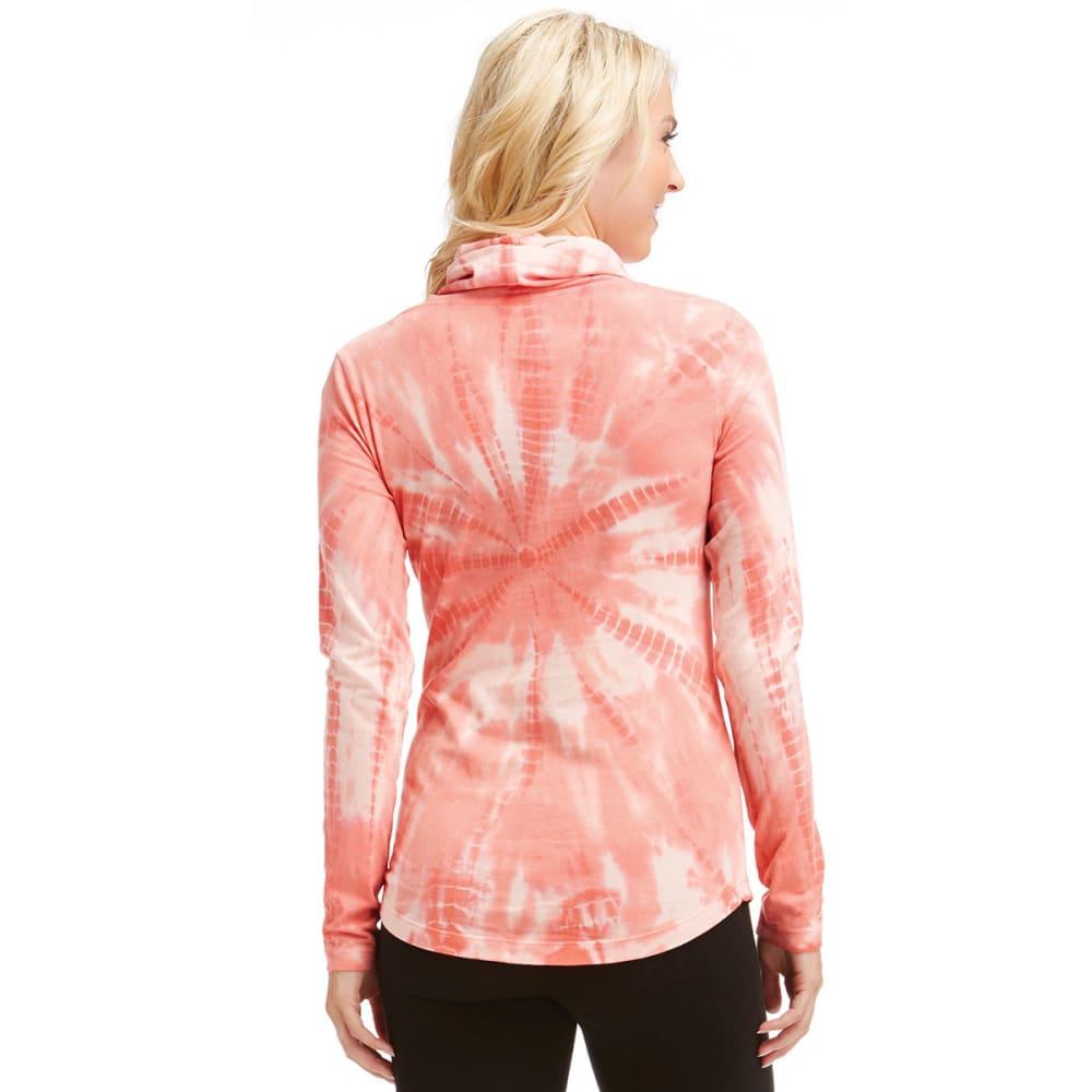 MARIKA Women's Tie Dye Cowl Top - ROSE OF SHARON