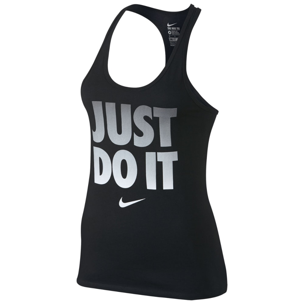 NIKE Women's Dri-Fit Just Do It Racerback Tank Top XS