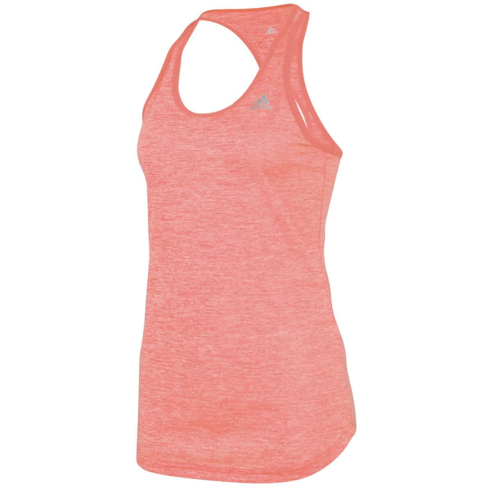 ADIDAS Women's Keyhole Tank - YELLOW