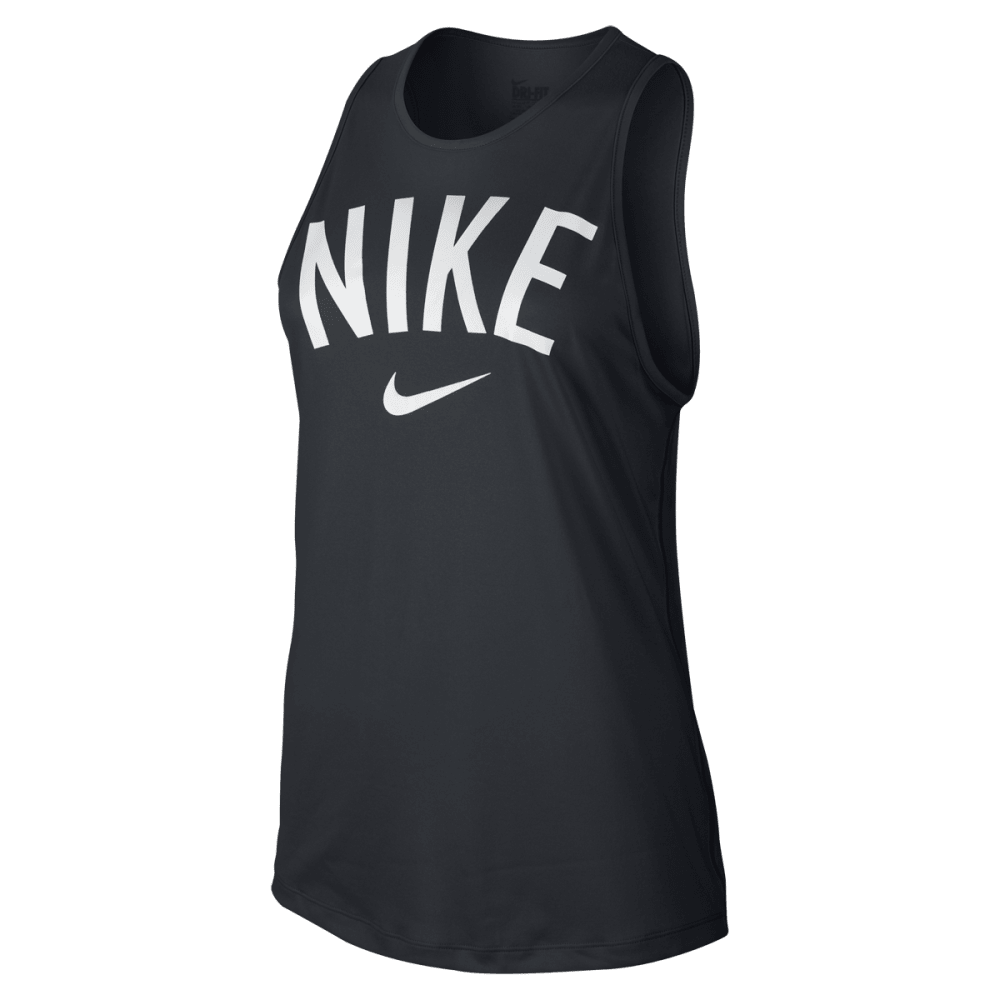 NIKE Women's Tomboy Graphic Tank - BLACK - 010