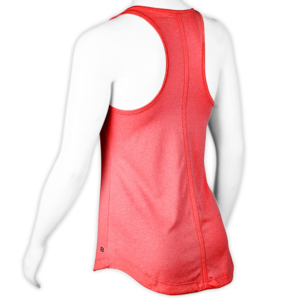 LAYER 8 Women's Sueded Tank - BLOWOUT - CORAL