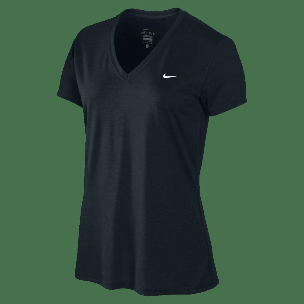 NIKE Women's Legend Short Sleeve Top - BLACK