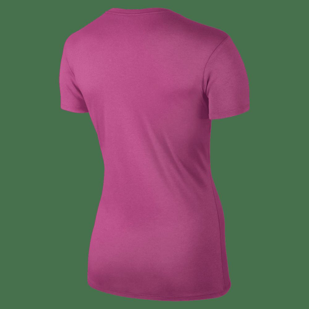 NIKE Women's Legend Short Sleeve Top - VIV PINK-616