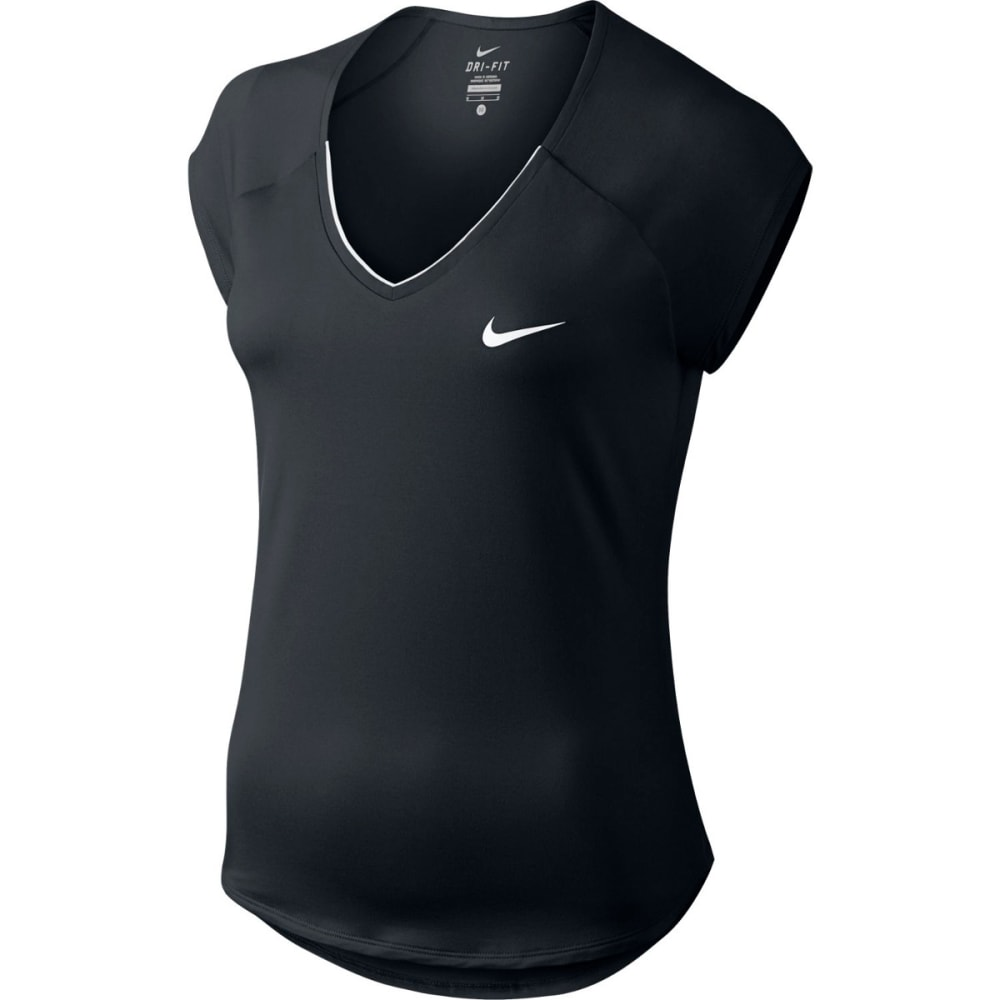 NIKE Women's NikeCourt Pure Tennis Top XS
