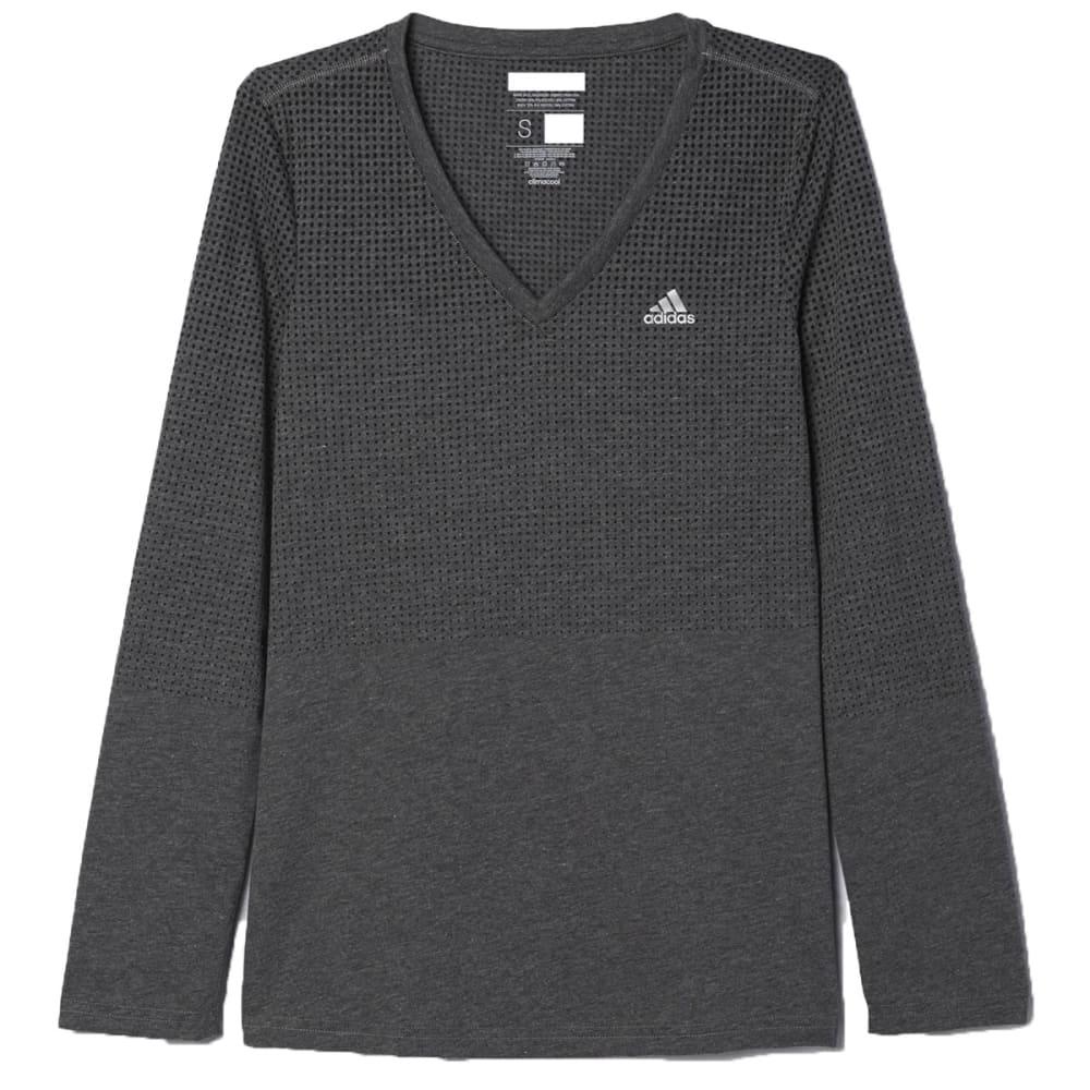 ADIDAS Women's Climacool Aeroknit Tee Shirt - BLACK