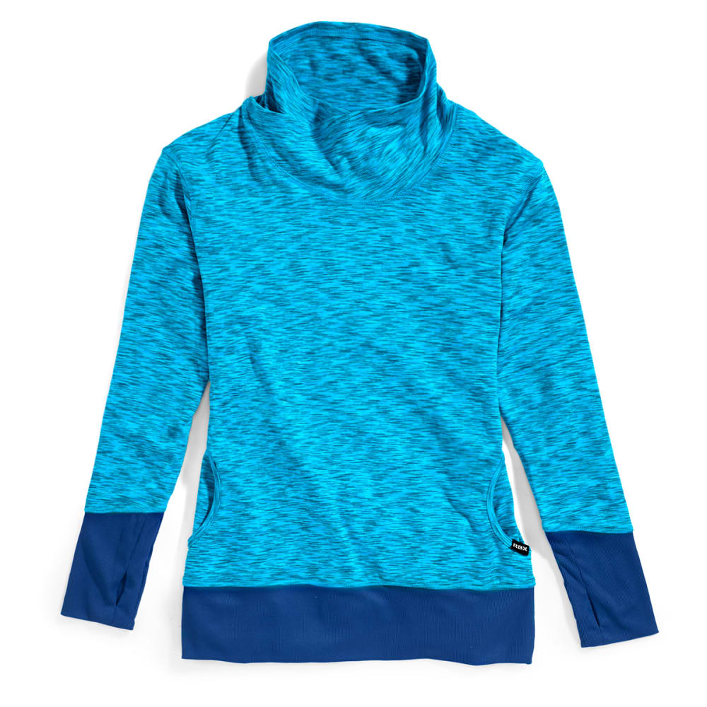 RBX Women's Space Dye Brushed Pullover S