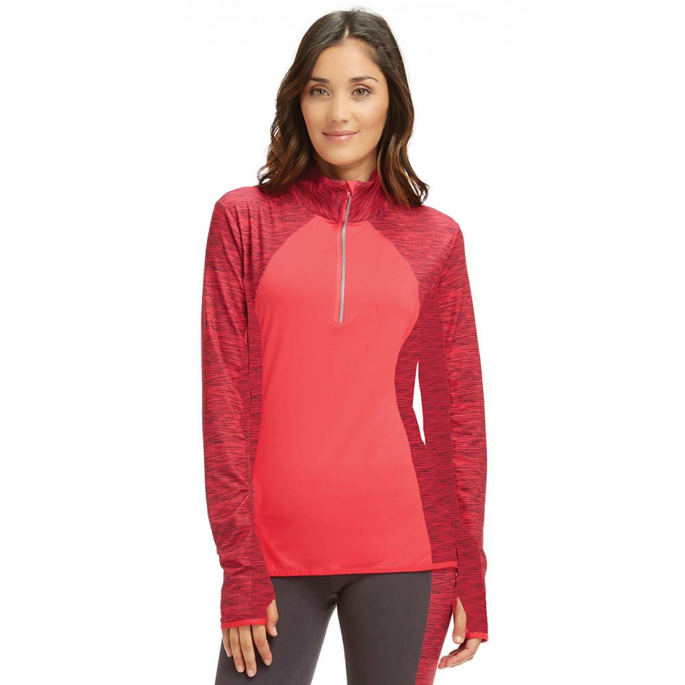MARIKA Women's Gravity Half-Zip Pullover - ROSE RED