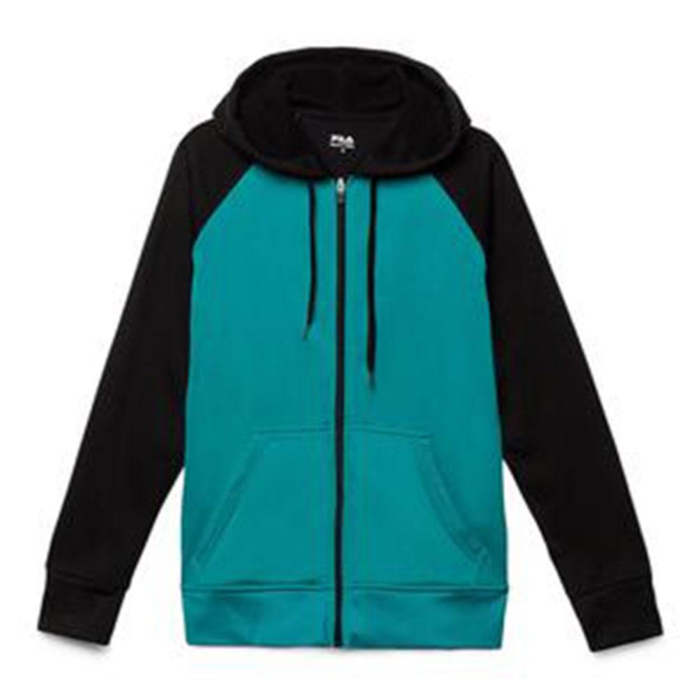 FILA Women's Noki Full Zip Hoodie - TEAL