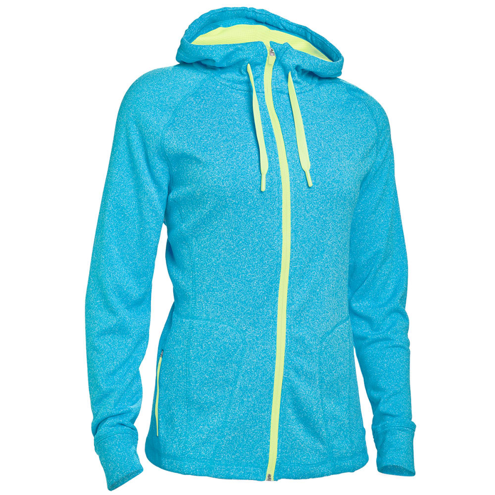 HIND Women's F2 Tech Fleece Full-Zip Hoodie - LAGOON